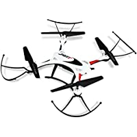Kids RC Quadcopter 2.4GHz 4CH Waterproof 6 Axis Gyro RC Drone Hexacopter Headless Mode Mini Aircraft Toy White