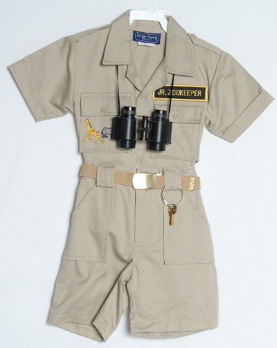 Children's Zoo Keepers Uniform (2T) (Zookeeper Costume)