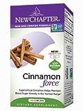 New Chapter Cinnamon Force. 60 Liquidvcaps (3 Bottles)