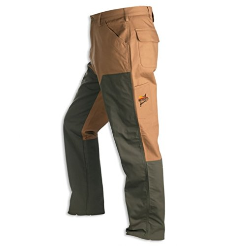 Upland Brush Pants - Browning Upland Pheasants Forever Chaps, Field Tan, 38 x 30