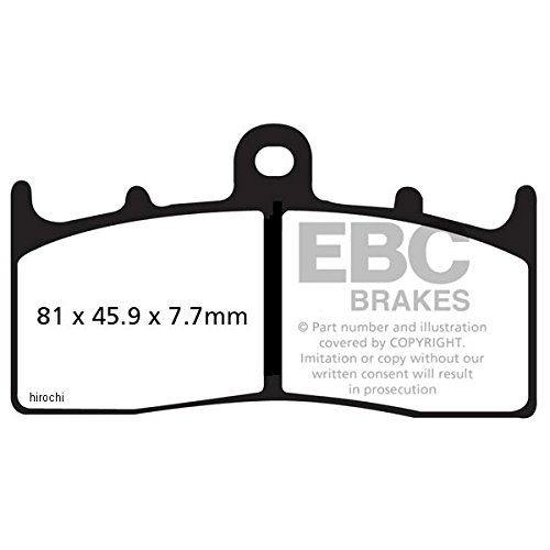 イービーシー EBC ブレーキパッド フロント 00年-07年 BMW R1200、R1100 シンタード 610017 EPFA294HH   B01N8REMIH