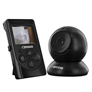 defender 2 4 digital video baby monitor with night vision and intercom 22500. Black Bedroom Furniture Sets. Home Design Ideas