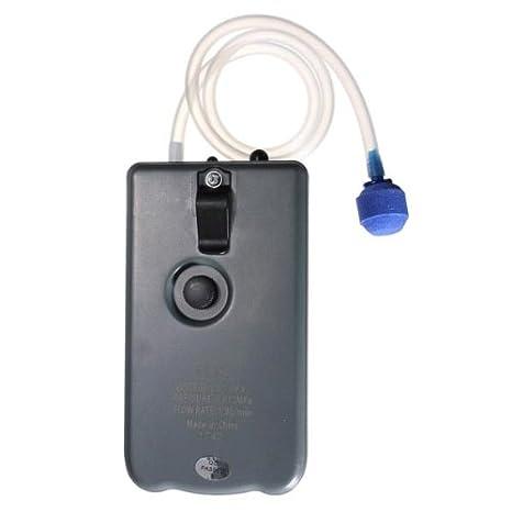 Amazon.com: [Free Shipping] Resun DC Battery Portable Air Pump Fish Tank+ Air Stone Tube DC160 // Bomba de aire portátil de baterías de corriente continua ...