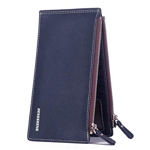Los Card Larga Azul Multi Bolsa Hombres Una Bolsa Tarjeta azul Jtsyhcarpeta De q6xIw5OY