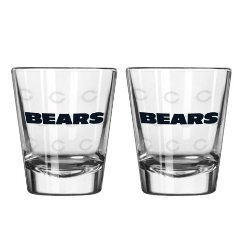 Chicago Bears Shot Glass - 2 Pack Satin - Website Eyewear
