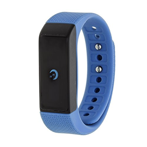 RBX Active RBXTR002NB Bluetooth Activity Tracker, Navy Blue