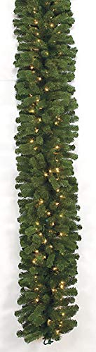 Mountain Pine Garland - 9 Foot x 18 Inches Mountain Pine Garlands Autograph Foliages