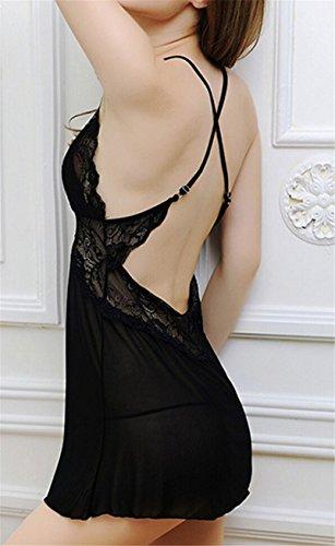 Les Femmes Pyjama En Dentelle De Lingerie Vêtements De Nuit Sous-vêtements Vêtements De Nuit Tenues Mini Robe