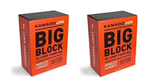 Kamado Joe, KJ-CHAR, Lump Charcoal (2-Pack) by Kamado Joe