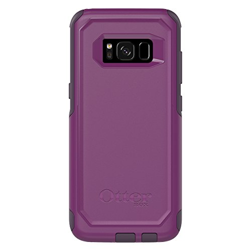 OtterBox COMMUTER SERIES for Samsung Galaxy S8 - Frustration Free Packaging - PLUM WAY (PLUM HAZE/NIGHT PURPLE) (Renewed)