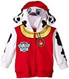 Nickelodeon Little Boys' Paw Patrol Marshall Toddler Costume Hoodie, Red, 3T