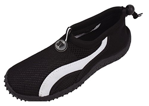 The Wave Womens Water Shoes Aqua Socks Pool Beach Black 2906 4DDq0j