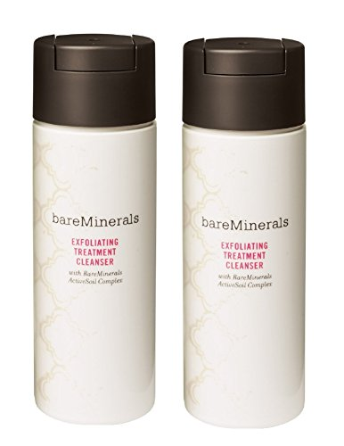 (Set 2) Bare Escentuals Bareminerals Exfoliating Treatment Cleanser w/ RareMinerals ActiveSoil Complex 70g/2.5 oz - Sealed, Without Box