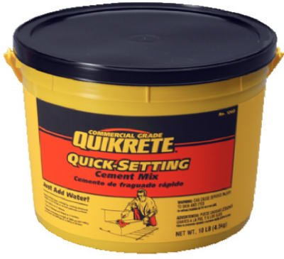 QUIKRETE Products : Quikrete Quick Setting Cement 10 - 15 Min 10 Lb