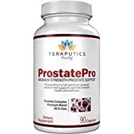 ProstatePro - 33 Herbs Saw Palmetto Prostate Health Supplement for Men | Non GMO Prostate Support Bladder Control Pills to Reduce Frequent Urination & DHT Blocker to Prevent Hair Loss, 90 Capsules