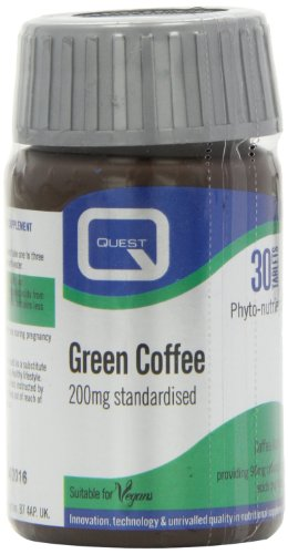 Quest Vitamins Quest Green Coffee 200Mg Extract 30 ()
