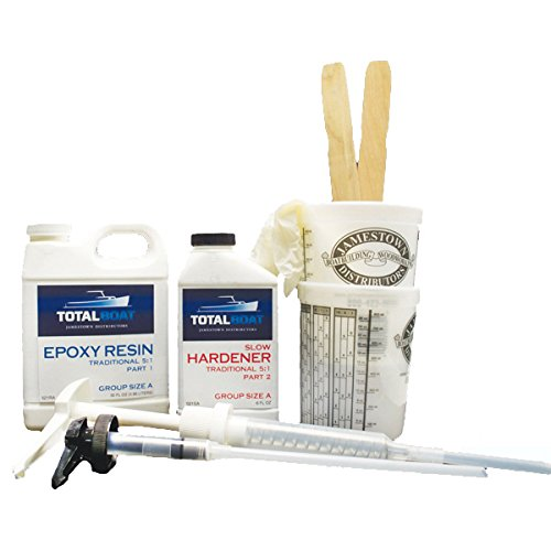 TotalBoat 5:1 Epoxy Kit (Quart, Slow Hardener)