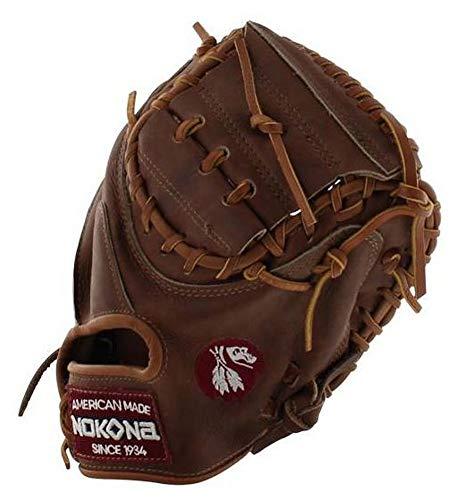 (Nokona Walnut Series 33.5 Inch W-3350 Baseball Catcher's Mitt)