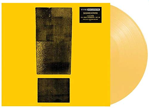 Shinedown  Attention Attention (Exclusive Transparent Gold Vinyl)