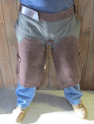- Anvil Brand Farrier Canvas Leather Apron