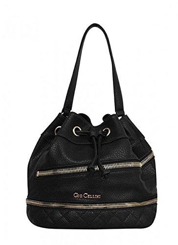 Gio Cellini Women's Satchel black black