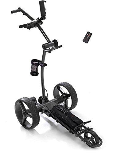 Elektro Golf Trolley CADDYONE 750 in Darkgrey mit Funkfernbedienung und Lithium-Akku