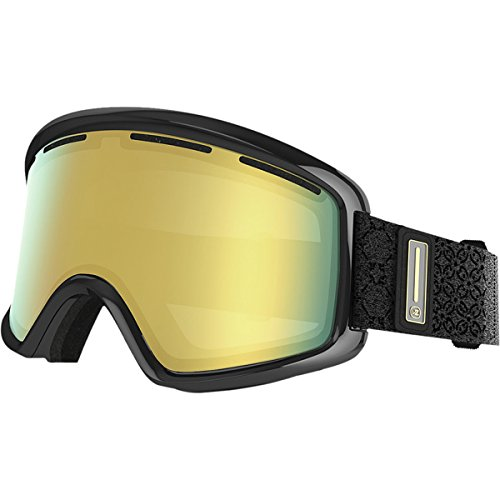 VonZipper Beefy Goggles, Black Gloss, Gold Chrome - Zipper Beefy Von