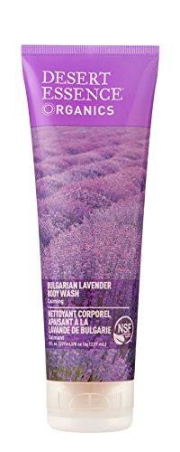 Desert Essence Body Wash, Bulgarian Lavender, 8 Fluid Ounce