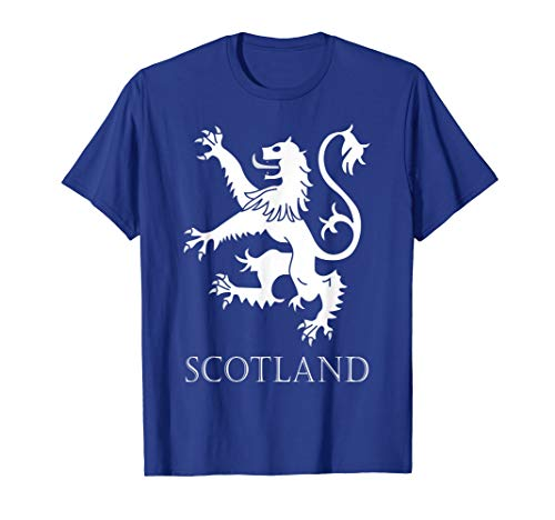 (Scottish Lion Rampant T-shirt Scotland Coat Arms Gift Rugby)