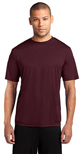 Port & Company Mens Essential Performance Tee PC380 -Athletic Mar S