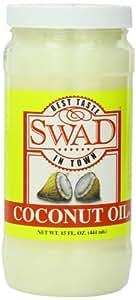 Swad Coconut Oil, 15 Ounce