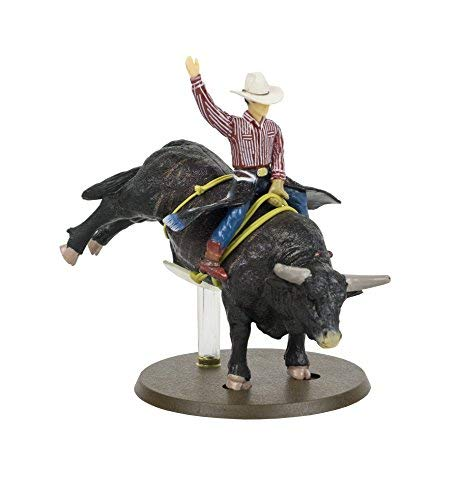 Big Country Toys Lane Frost & Red Rock - 1:20 Scale - Collectible - Rodeo Toys & Figurines