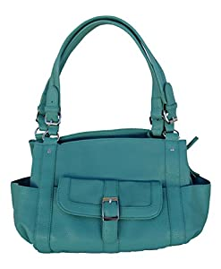Concealed Carry Purse - Locking CCW Gun Purse - Addison in Seafoam