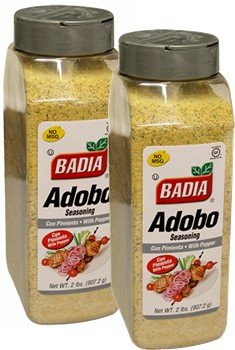 Badia Adobo with Pepper 2 lb Pack of 2