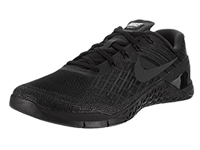 Nike Men's Metcon 3, BLACK/BLACK, 6 M US