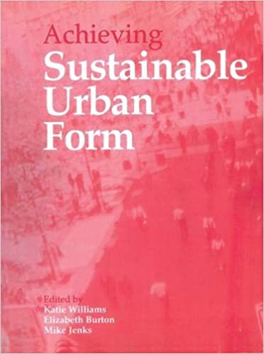 Book Achieving Sustainable Urban Form