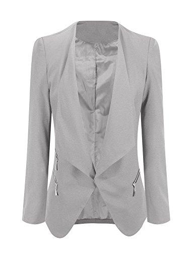 Zip Jacket Blazer - 4