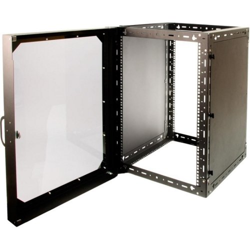 Rack Solutions Wall Mount Rack, 15U Tall X 11U Deep, Side Panels And Door . 15U Wide X 21.18