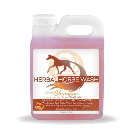 HEALTHY HAIR CARE Herbal Horse Wash Refill Gallon Size