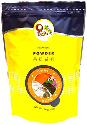 Qbubble Tea Powder Thai, 2.2 Pound by Qbubble