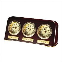 Multi Zone Desk Top Clock Engraving: Engraving