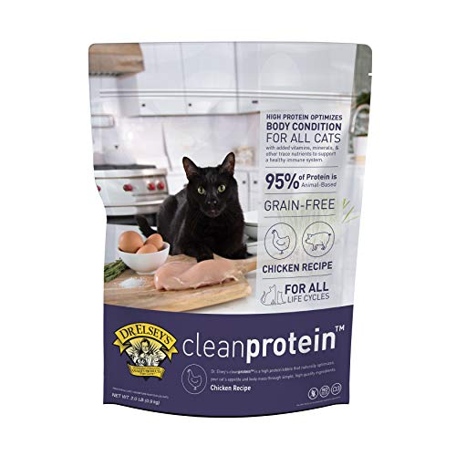 Dr. Elsey's Cleanprotein Grain Free High Protein, Low Carb Dry Cat Food, Chicken