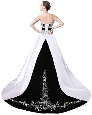 Faironly D229 Women's Wedding Dress Bridal Gown