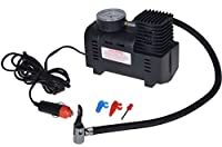 XtremepowerUS 250 PSI 12V Mini Air Compressor 12 Volt Emergency Car and Truck Tire Pump (with adapters to inflate balls, rafts, etc)