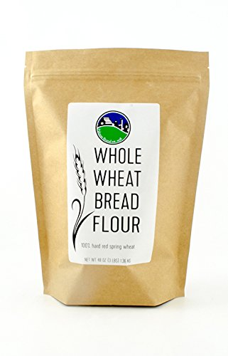 Milled to Order Whole Wheat Bread Flour| Non-GMO | Unbleached | Non-Irradiated | Unbromated | No Additives | 3 lbs (Wheat No Flour)