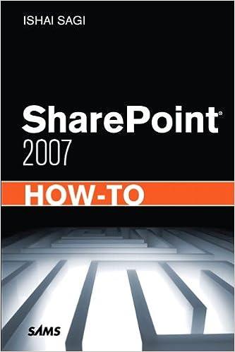 SHAREPOINT 2007 EBOOK EBOOK DOWNLOAD