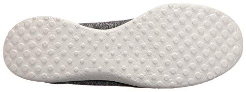 Skechers Sport Damen Microburst Topnotch Fashion Sneaker Schwarzgrau