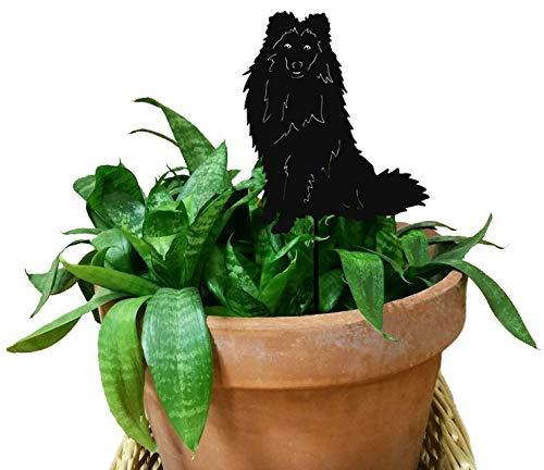 Shetland Sheepdog Ornament or Plant Stake
