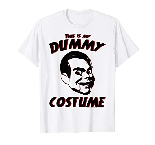 Goosebumps Dummy Costume Text