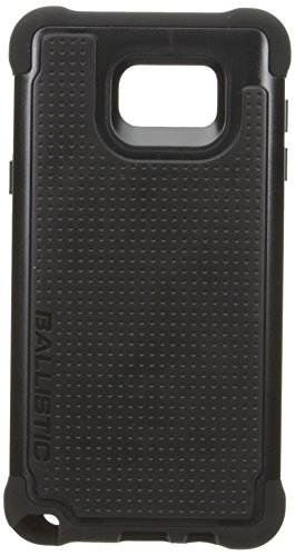 BALLISTIC Carrying Case for Samsung Galaxy Note 5 - Retail Packaging - Black